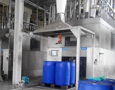化工助剂灌装:手持加油枪式丙烯酸自动灌装200公斤桶设备以及丙烯酸的注意事项