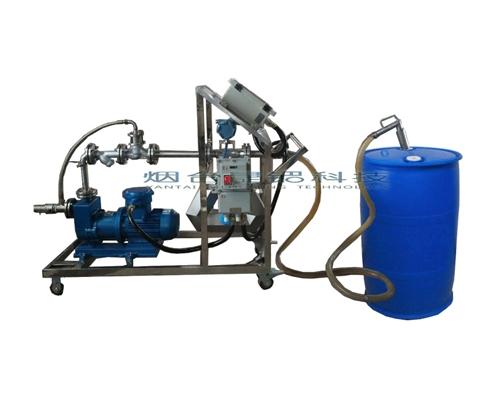 枣庄冰醋酸200公斤塑料桶灌装泵