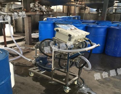 双氧水定量分装大桶设备