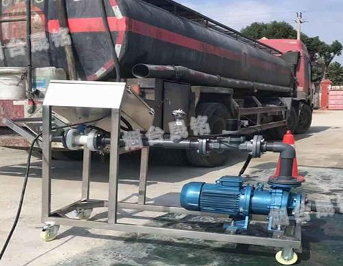槽罐车自动灌装设备