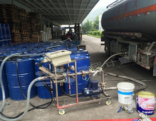 槽车自动分装大桶设备