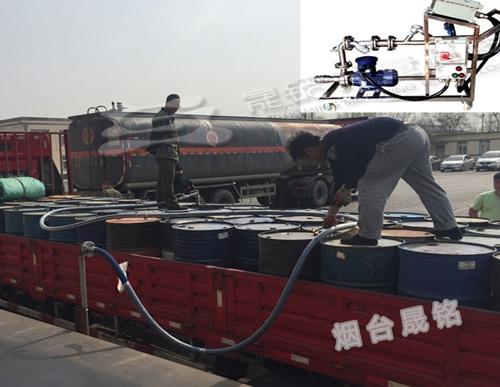 槽车定量分装200公斤大桶设备