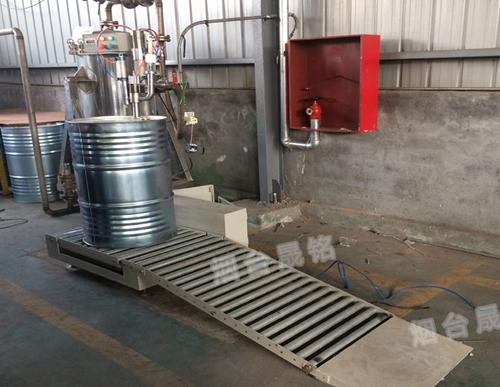 化工液体称重灌装机200公斤大桶灌装秤