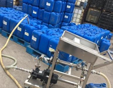 双氧水自动灌装25公斤桶计量设备的技术参数以及双氧水的特性