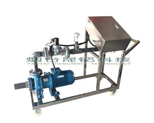聊城酸类原料吨桶定量分装25L桶设备