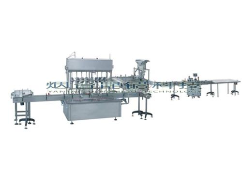 石家庄全自动多头液体灌装机 定量液体分装机